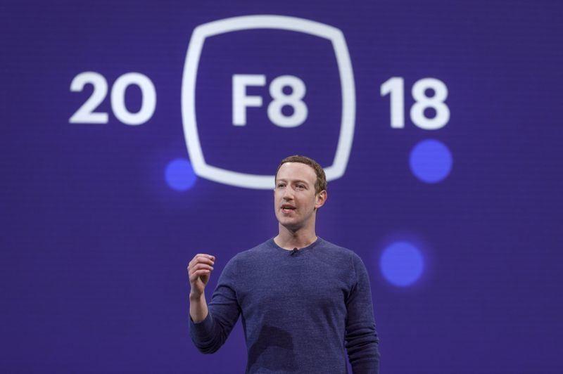 Facebook(臉書)在F8開發者大會宣布將推出Clear History工具,另外新增約會、捐血等功能。(圖取自Facebook Newsroom網頁 newsroom.fb.com)