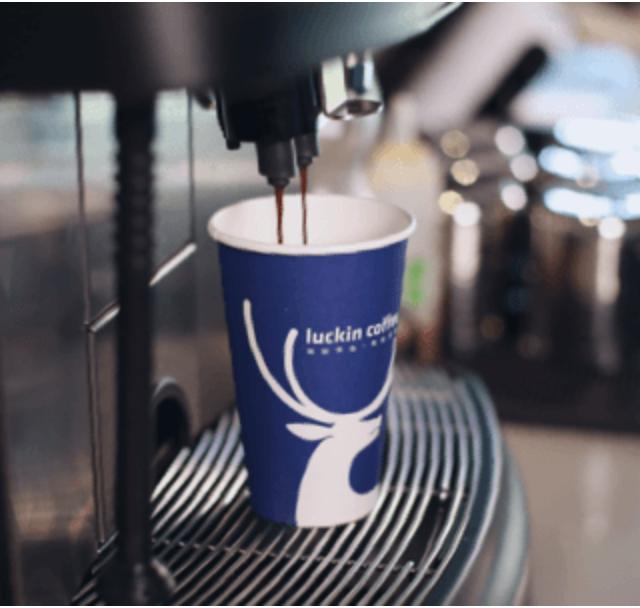 瑞幸咖啡 luckin coffee 中國本土連鎖咖啡