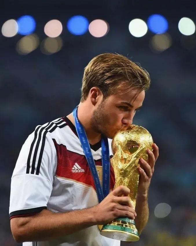 2014年德國隊奪冠的大功臣馬利歐・格策(Mario Gotze)。