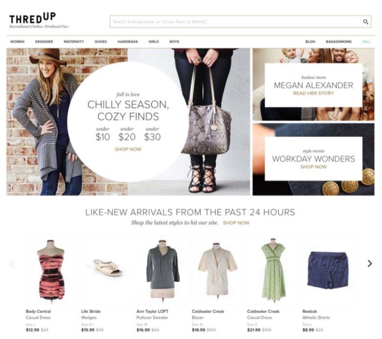 second hand online shop