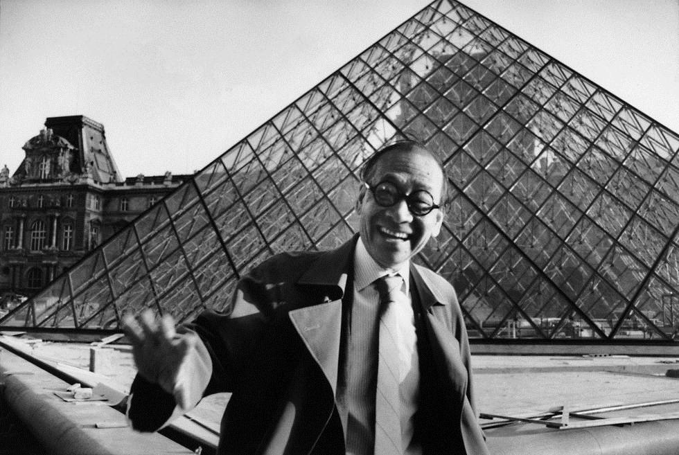 「如果有一件事,我知道我沒有做錯,那就是羅浮宮」東海大學教堂、羅浮宮金字塔建築師貝聿銘逝世