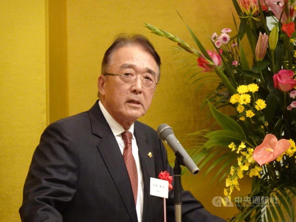 日本前駐台代表沼田幹夫
