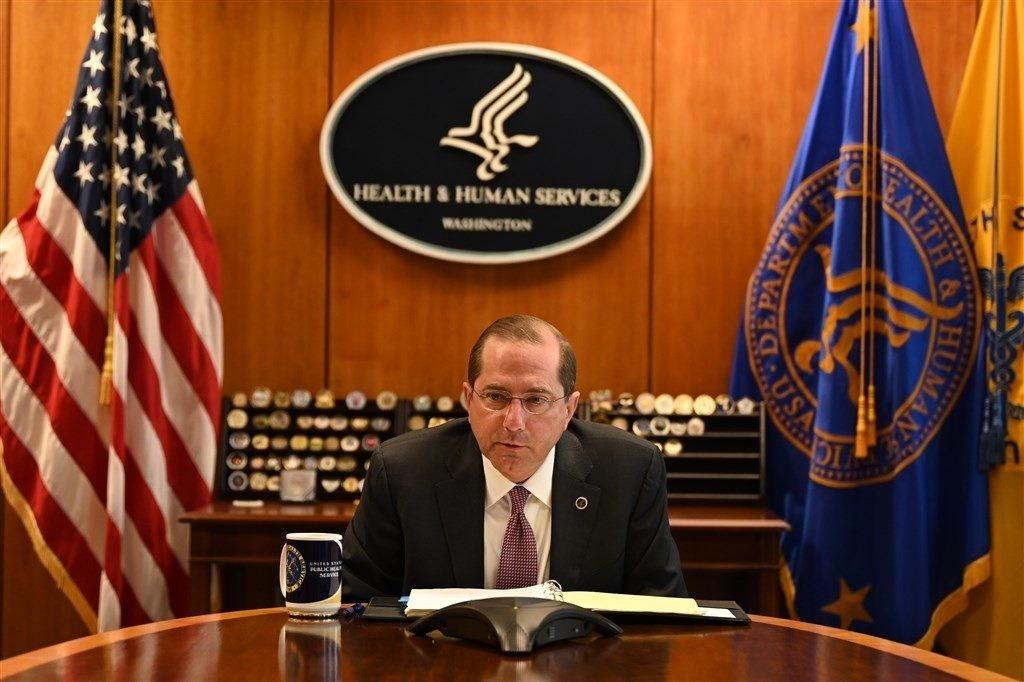 川普內閣的首位! 美國衛生部長艾薩將於近日訪台