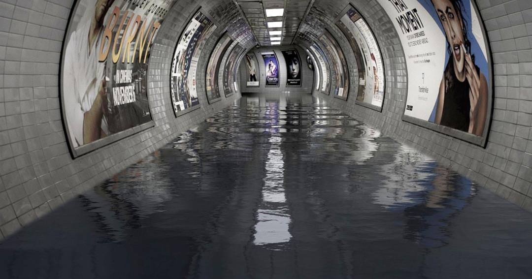 洪水水災對地鐵捷運的影響